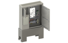 Rectifier station PVC SCMAC with Energy Distribution Box
