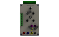 SHUNT measuring box LCTE from 100mA to 20A - Rectifier Station